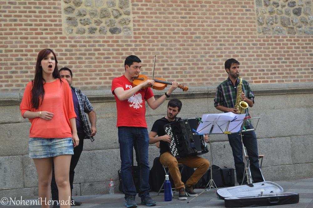 Artistas en la calle
