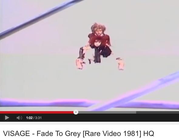 fade to grey-Visage