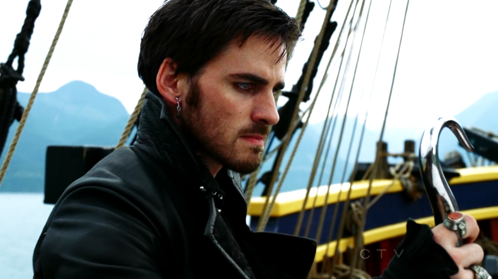 Colin O'Donoghue- Capitán Garfio en Once Upon A Time