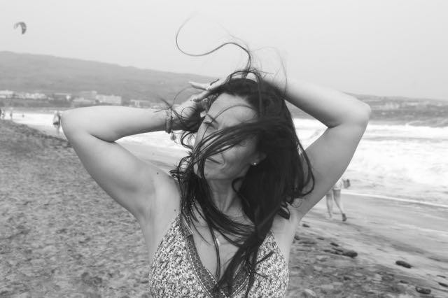 melena al viento